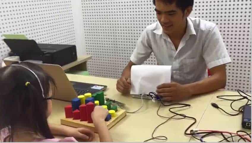 Phương pháp đo thính lực đồ chơi